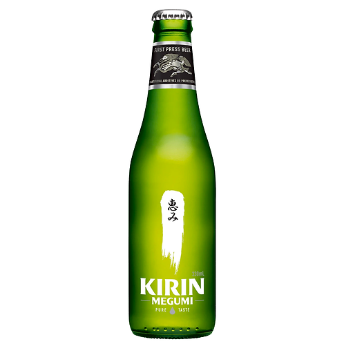 Kirin Megumi Beer Bottles 330mL 4.5%