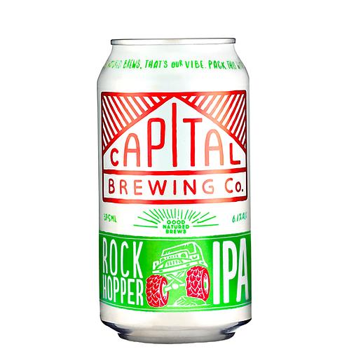 Capital Brewing Co. Rock Hopper IPA Cans 375mL 6.1%