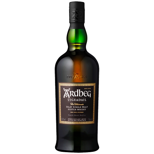 Ardbeg Uigeadail Scotch Whisky 700mL 54.2%
