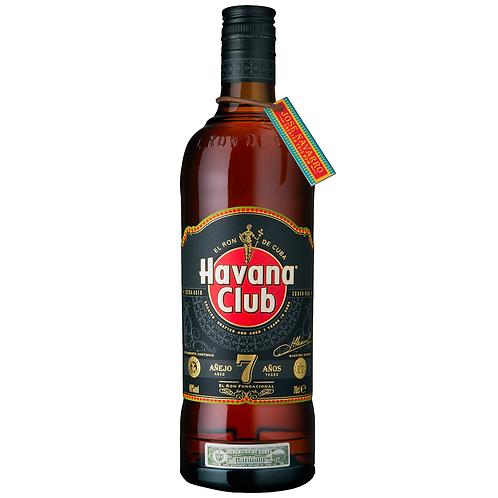 Havana Club Anejo 7 Anos Rum 700mL 40%