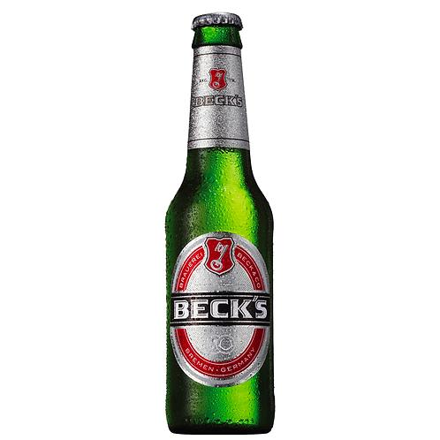 Beck's Beer Bottles 330mL 4%