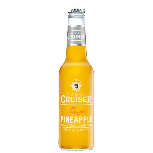 Vodka Cruiser Pure Pineapple Bottles 275mL 4.6%