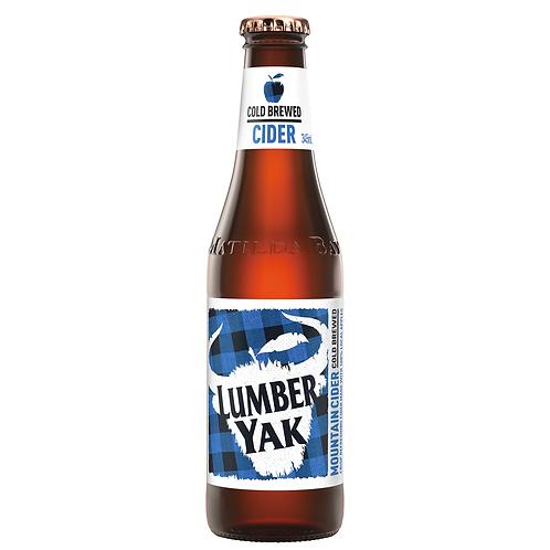 Lumber Yak Cold Brewed Apple Cider Bottles 6x345mL 4.5%