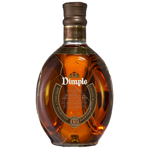 Dimple 12 Year Old Scotch Whisky 700mL 40%