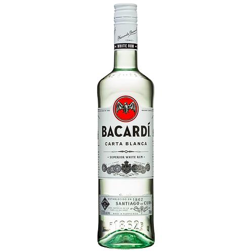 Bacardi Carta Blanca Superior White Rum 700mL 37.5%