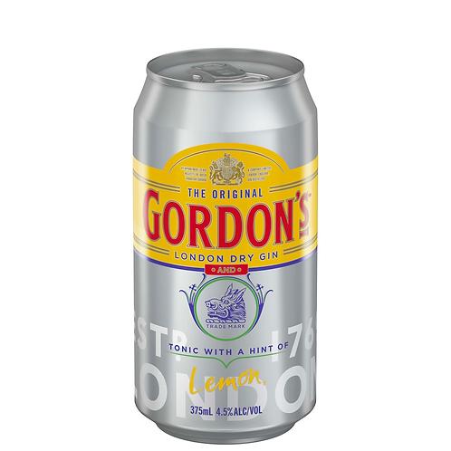 Gordon's Gin & Tonic Cans 6x375mL 4.5%