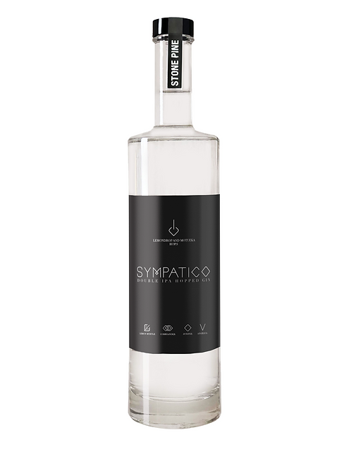 Sympatico Double IPA Hopped Gin 44% 500ml
