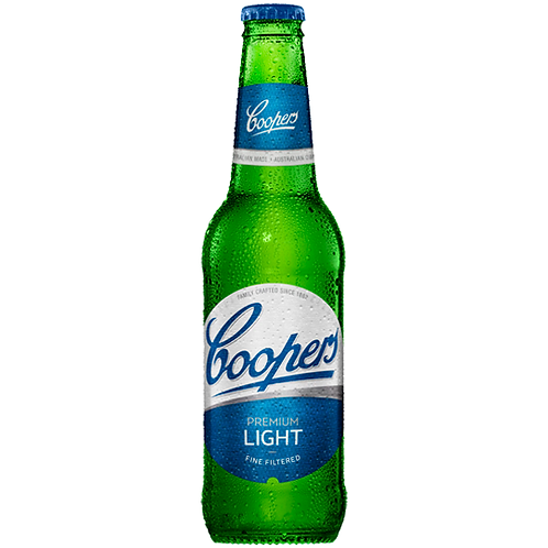Coopers Light Bottles 24x355mL 2.9%