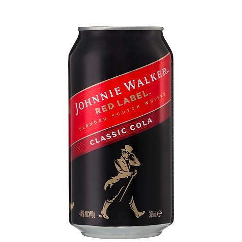 Johnnie Walker & Cola Cans 6x375mL 4.6%