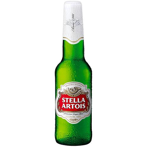 Stella Artois Bottles 24x330mL 4.8%