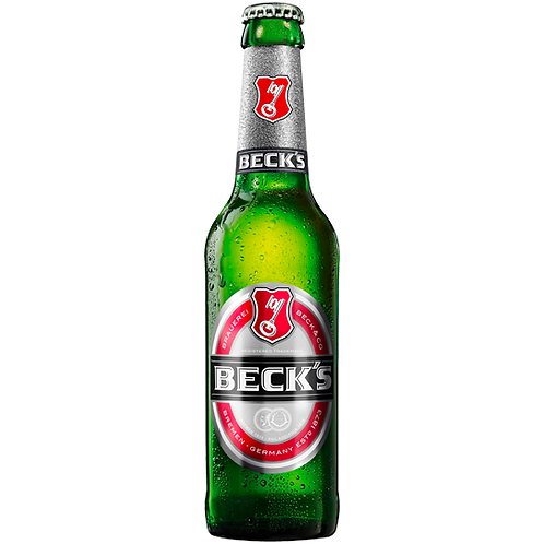 Becks Beer Bottles 24x330mL 4%