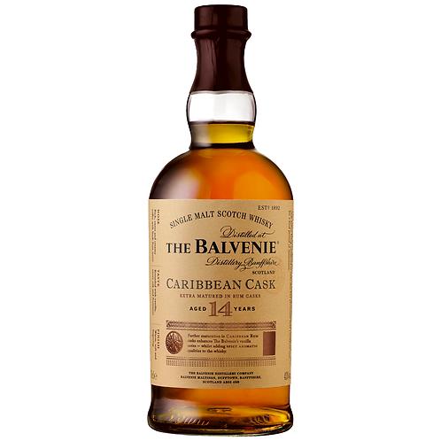 The Balvenie 14yo Caribbean Cask Single Malt Scotch 700mL 43%