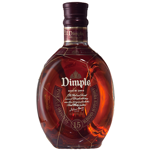 Dimple 15 Year Old Scotch Whisky 700mL 40%