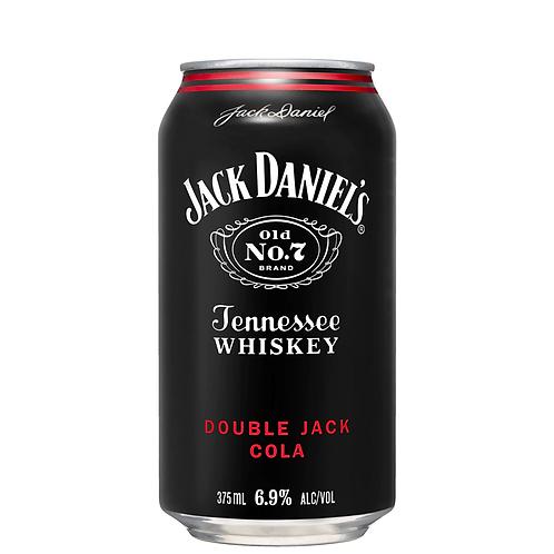 Jack Daniel's Double Jack & Cola Cans 4x375mL 6.9%