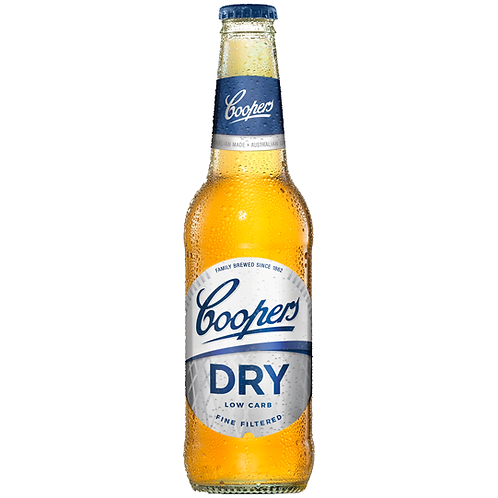 Coopers Dry Bottles 24x355mL 4.2%