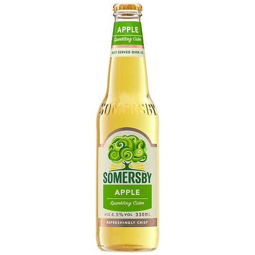 Somersby Cider Apple Bottles 6x330mL 4.5%