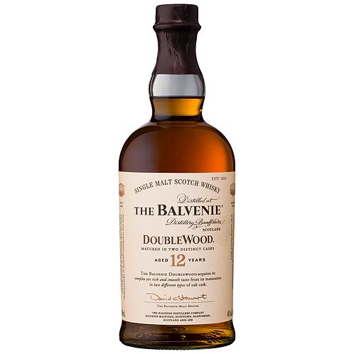 The Balvenie 12 Year Old DoubleWood Single Malt Scotch 700mL 40%