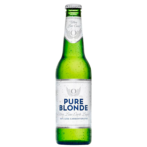 Pure Blonde Low Carb Lager Bottles 355mL 4.2%