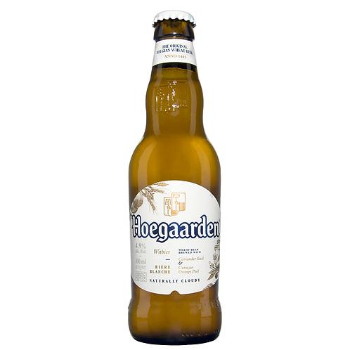 Hoegaarden White Beer Bottles 330mL 4.9%