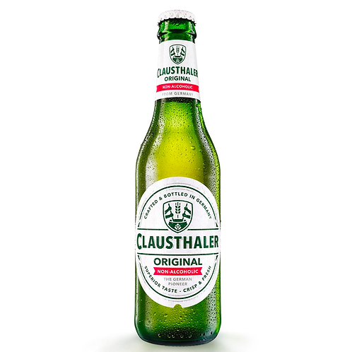 Clausthaler Non-Alcoholic Beer Bottles 330mL 0.5%