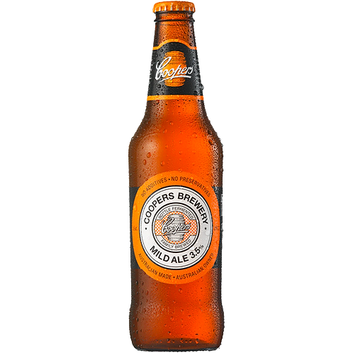 Coopers Mild Ale Bottles 24x375mL 3.5%