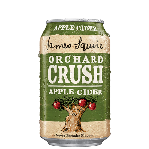 James Squire Orchard Crush Apple Cider Cans 330mL 4.8%