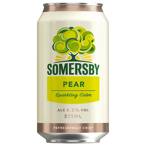 Somersby Cider Pear Cans 10x375mL 4.5%