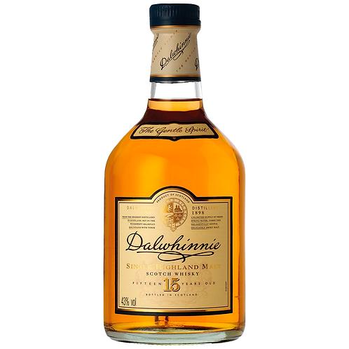 Dalwhinnie 15 Year Old Single Malt Scotch 700mL 43%