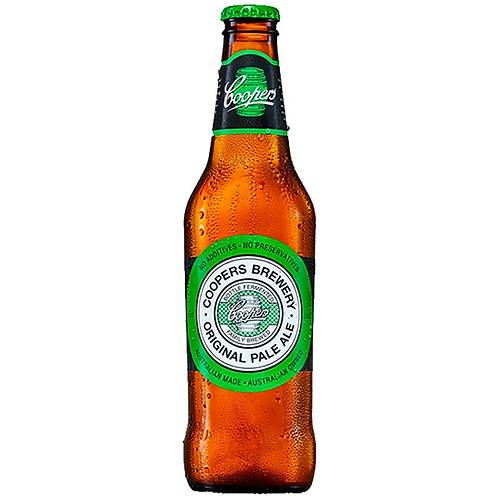 Coopers Pale Ale Bottles 24x375mL 4.5%