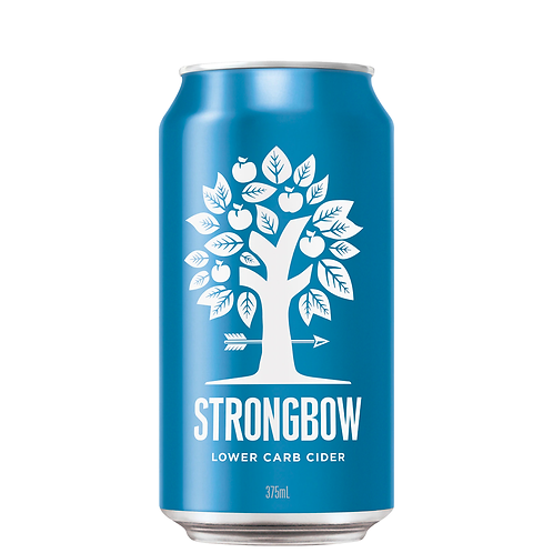 Strongbow Lower Carb Cider Cans 10x375mL 5%