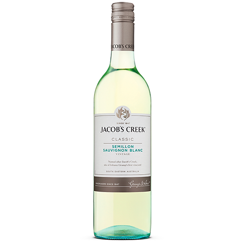 Jacobs Creek Classic Semillon Sauvignon Blanc 750mL 12%