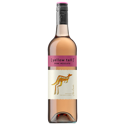 Yellow Tail Pink Moscato 750mL 7.5%