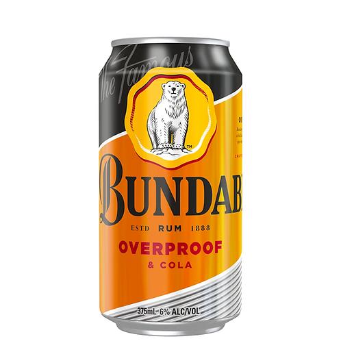Bundaberg OP Rum & Cola Cans 6x375mL 6%