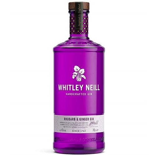 Whitney Neill Rhubarb & Ginger Gin 700mL 43%