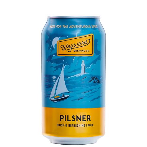 Wayward Brewing Co Pilsner Cans 375mL 4.2%