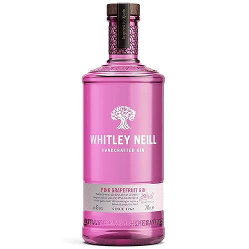 Whitley Neill Pink Grapefruit Gin 700mL 43%