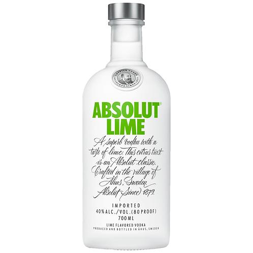 Absolut Lime Vodka 700mL 40%