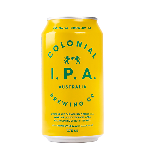 Colonial Brewing Co. IPA Cans 375mL 6.5%