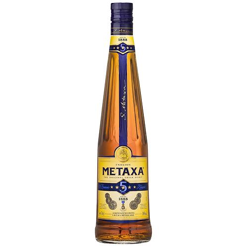 Metaxa 5 Star Brandy 700mL 38%