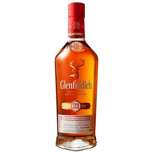 Glenfiddich 21 Year Old Single Malt Scotch 700mL 40%