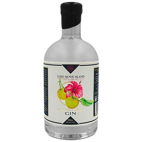 Lord Howe Island Distilling Co. Wild Lemon & Hibiscus Gin 700mL 40%