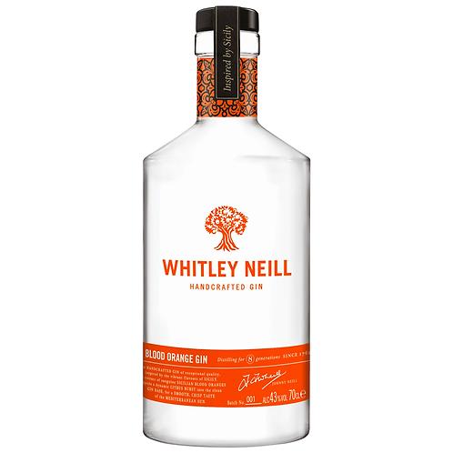 Whitley Neill Blood Orange Gin 700mL 43%