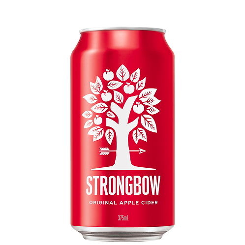 Strongbow Original Cider Cans 10x375mL 5%