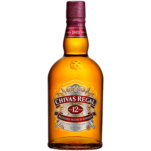 Chivas Regal 12YO Blended Scotch Whisky 700mL 40%
