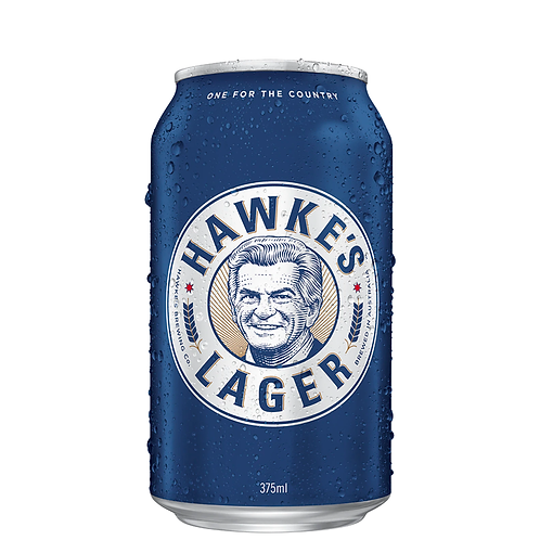 Hawkes Brewing Co Lager Cans 375mL 4.5%