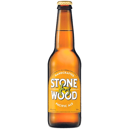 Stone & Wood Pacific Ale Bottles 24x330mL 4.4%