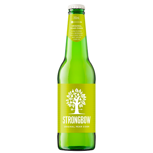 Strongbow Classic Pear Cider Bottles 6x355mL 5%