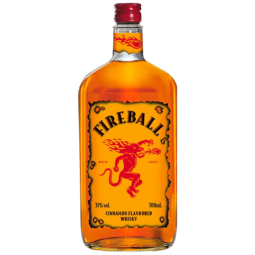 Fireball Cinnamon Whisky 700mL 33%