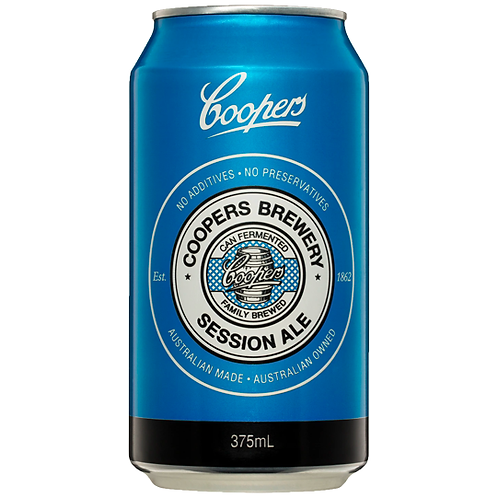 Coopers Session Ale Cans 24x375mL 4.2%