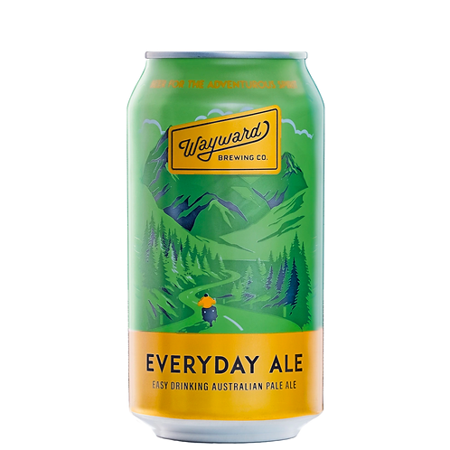 Wayward Brewing Co Everyday Ale Cans 375mL 4.2%